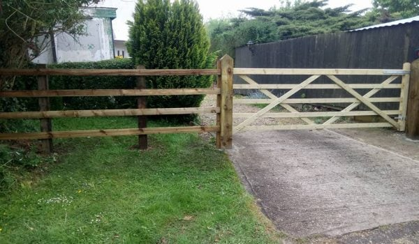 Gates supplied and installed