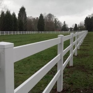 Equestrian and stock fencing