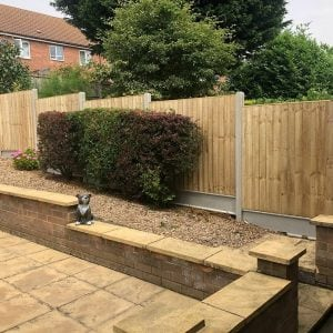 Domestic Fencing Job Complete